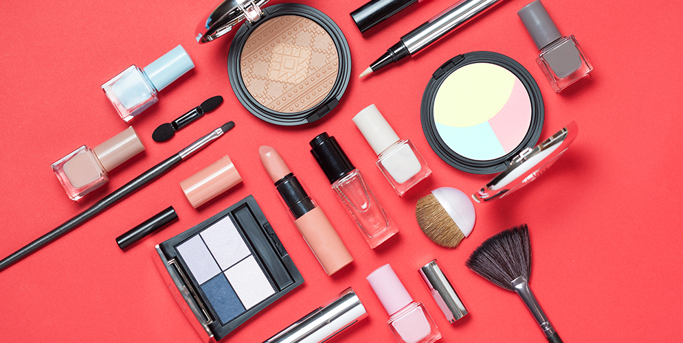 a view on cosmetics